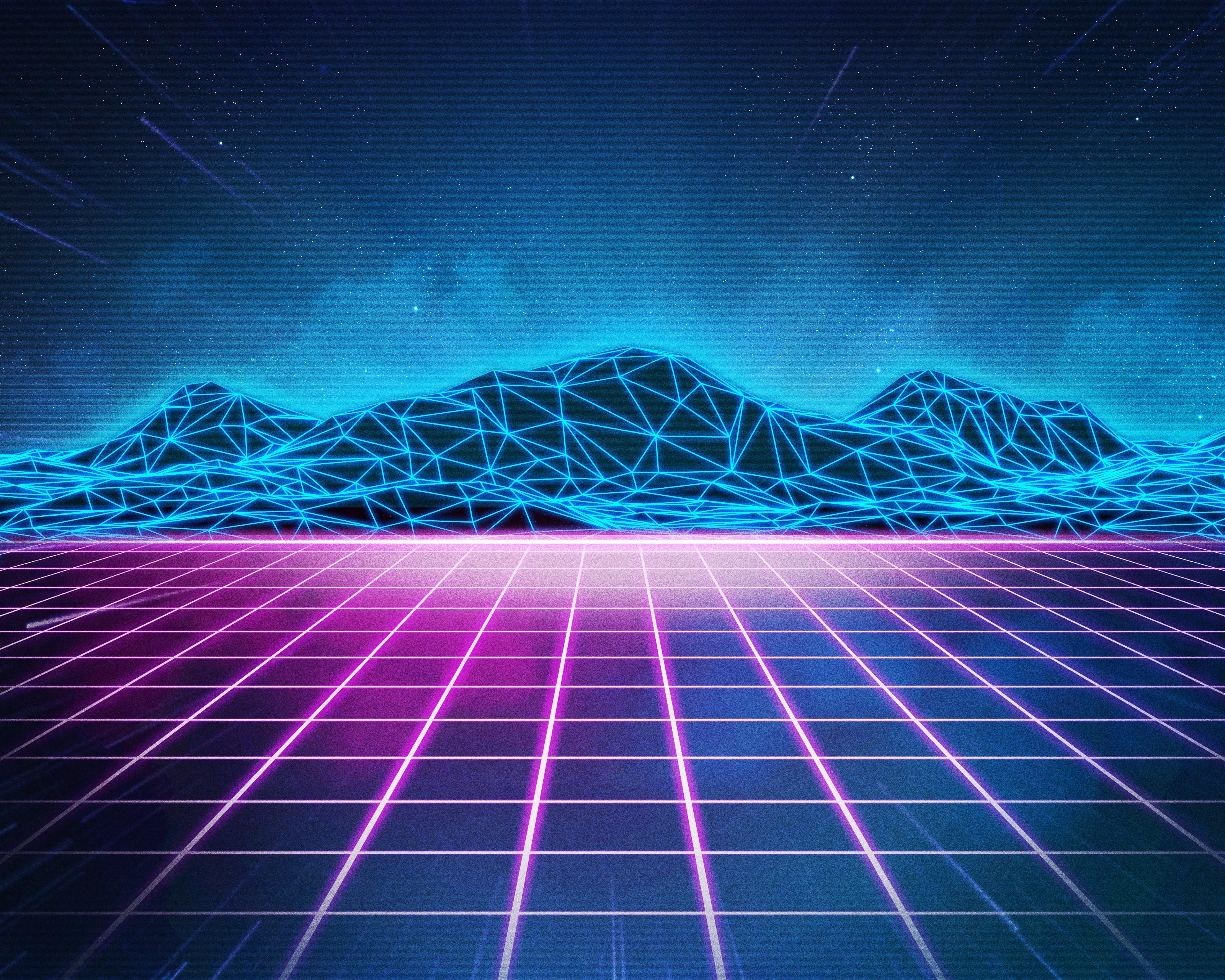 Rad Pack 80's-Themed HD Wallpapers - Nate Wren - Graphic ...